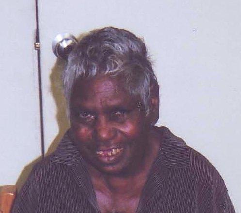 picture of Australian artist Gloria Petyarre