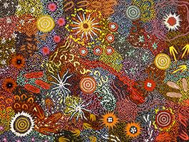 Michelle Possum Nungurrayi-Womens Dreaming