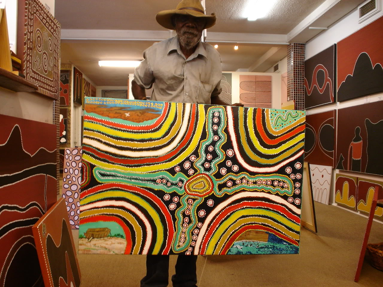 Aboriginal art online shop